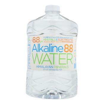 Alkaline 88 - Water Purified 8.8 Ph - Case Of 4 - 3 Liter