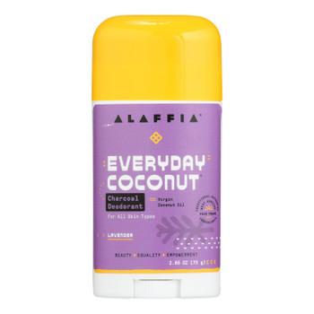 Alaffia - Deodorant - Coconut Lavender - 2.65 Oz.
