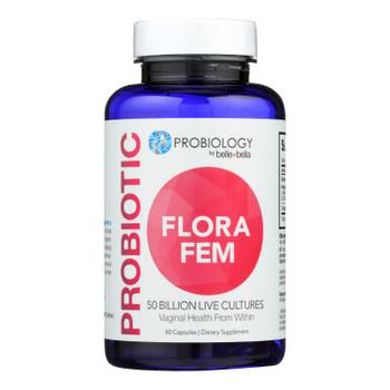Belle And Bella - Probiotic Flora Fem - 60 Capsules