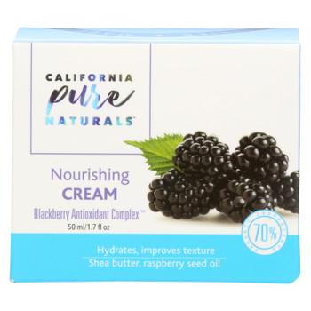 California Pure Naturals - Nourishing Cream - 1.7 Oz.