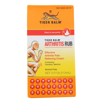 Tiger Balm Arthritis Rub - 4 Fl Oz