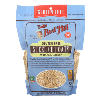 Bob's Red Mill - Steel Cut Oats - Gluten Free - Case Of 4-24 Oz.