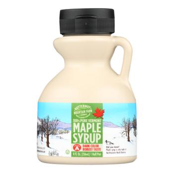 Butternut Mountain Farm - Maple Syrup - Dark Grade A - Case Of 24 - 8 Fl Oz.