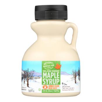 Butternut Mountain Farm - Maple Syrup - Amber Grade A - Case Of 24 - 8 Fl Oz.