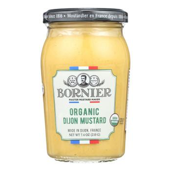 Bornier - Mustard - Organic Dijon - Case Of 6 - 7.4 Oz