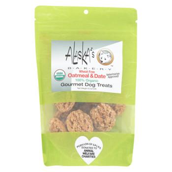 Alaska's Bakery - Dog Treats - Oatmeal And Date - Case Of 6 - 6 Oz.