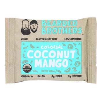 Bearded Brothers - Energy Bar - Colossal Coconut Mango - Case Of 12 - 1.52 Oz.