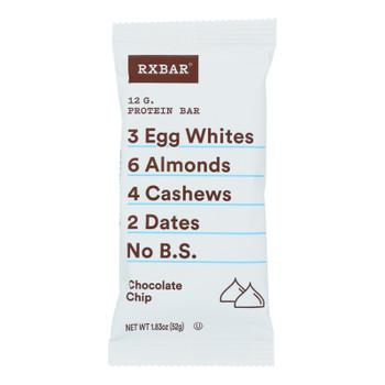 Rxbar - Protein Bar - Chocolate Chip - Case Of 12 - 1.83 Oz.