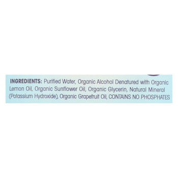Fit Organic - Fruit And Vegetable Wash - Spray - Case Of 24 - 12 Fl Oz.