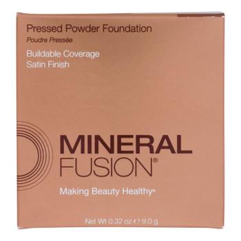 Mineral Fusion - Pressed Powder Foundation - Deep 4 - 0.32 Oz.