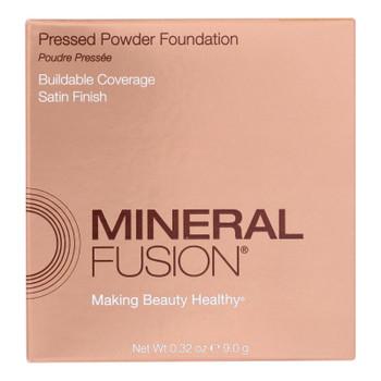 Mineral Fusion - Pressed Powder Foundation - Olive 3 - 0.32 Oz.