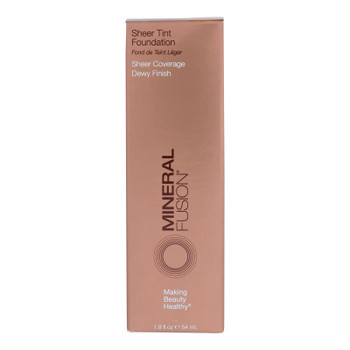 Mineral Fusion - Sheer Tint Mineral Foundation - Olive - 1.8 Oz.