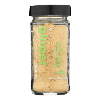 Spicely Organics - Organic Ginger - Ground - Case Of 3 - 1.2 Oz.