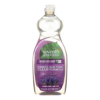 Seventh Generation - Liquid Dish Soap - Lavender - 25 Fl Oz.