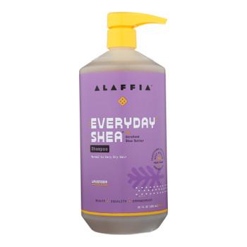 Alaffia - Shampoo - Shea Lavender - 32 Oz.