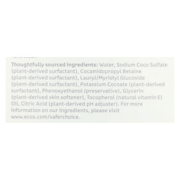 Ecos - Hypoallergenic Conditioning Pet Shampoo - Fragrance Free - 17 Fl Oz.