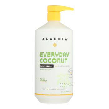 Alaffia - Everyday Conditioner - Coconut And Ginger - 32 Fl Oz.