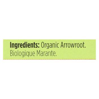 Spicely Organics - Organic Arrowroot - Case Of 6 - 0.4 Oz.