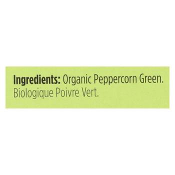 Spicely Organics - Organic Peppercorn - Green - Case Of 6 - 0.2 Oz.