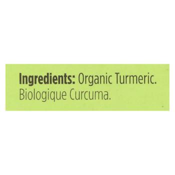 Spicely Organics - Organic Turmeric - Case Of 6 - 0.45 Oz.