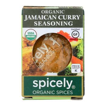Spicely Organics - Organic Jamaicn Curry Seasoning - Case Of 6 - 0.4 Oz.
