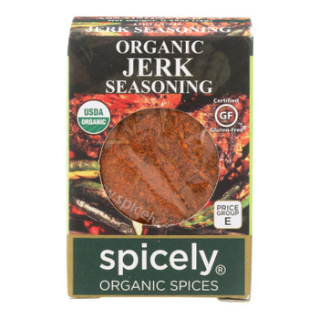 Spicely Organics - Organic Jerk Seasoning - Case Of 6 - 0.45 Oz.