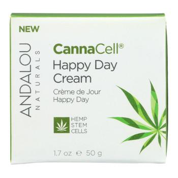 Andalou Naturals - Cannacell Happy Day Cream - 1.7 Oz.