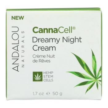 Andalou Naturals - Cannacell Dreamy Night Cream - 1.7 Oz.