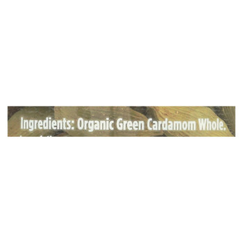 Spicely Organics - Organic Cardamom - Pods Green - Case Of 3 - 1.2 Oz.