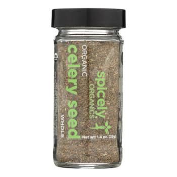 Spicely Organics - Organic Celery Seeds - Case Of 3 - 1.4 Oz.
