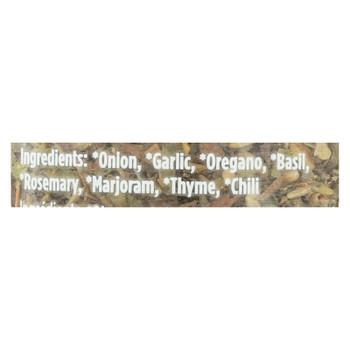 Spicely Organics - Organic Italian Seasoning - Case Of 3 - 0.5 Oz.