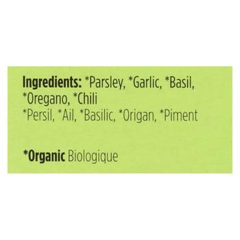 Spicely Organics - Organic Seasoning - Chimichurri - Case Of 6 - 0.1 Oz.