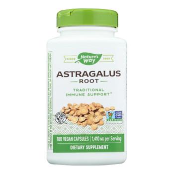Nature's Way - Astragalus Root - 180 Veg Capsules