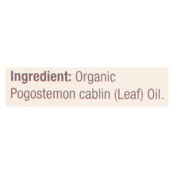 Nature's Answer - Organic Essential Oil - Patchouli - 0.5 Oz.