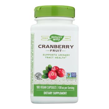 Nature's Way - Cranberry Fruit - 180 Vcap
