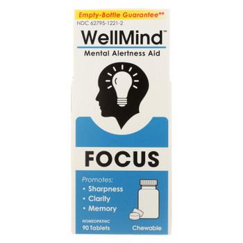Wellmind - Tab Mental Focus Lemon - 90 Count