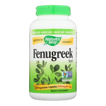 Nature's Way - Fenugreek Seed - 320 Veg Capsules
