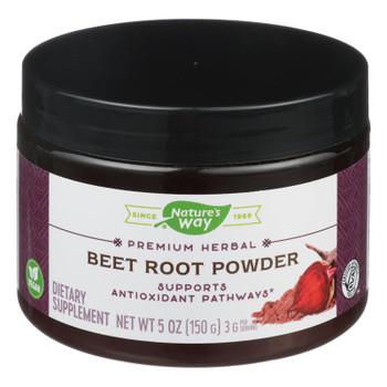 Nature's Way - Beet Root - Powder - 5 Oz.