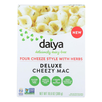 Daiya Foods - Cheezy Mac - Four Cheese With Herbs - Cs Of 8 - 10.6 Oz.