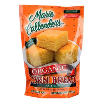 Marie Callender's Organic Mix Corn Bread Original - Case Of 12 - 16 Oz