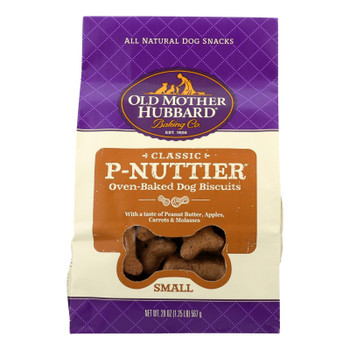 Old Mother Hubbard - Biscuits P-nuttier Small - Case Of 6 - 20 Oz