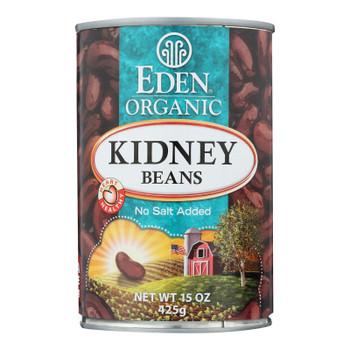 Eden Organic Kidney Beans  - Case Of 6 - 15 Oz