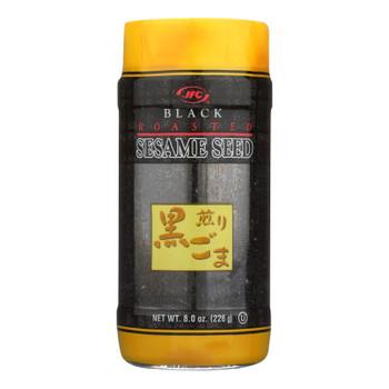 Jfc Black Roasted Sesame Seeds  - Case Of 12 - 8 Oz