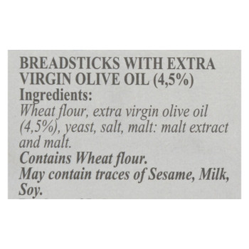 Granforno - Breadsticks Plain - Case Of 12 - 4.4 Oz