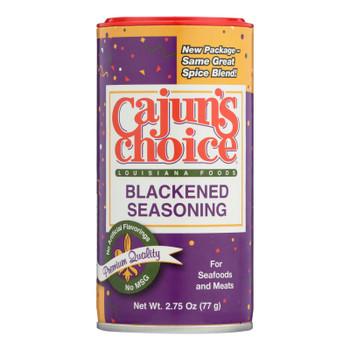 Cajuns Choice Blackened Seasoning  - Case Of 12 - 2.75 Oz