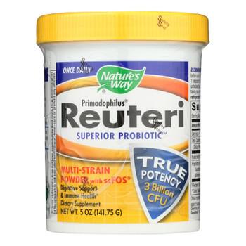 Nature's Way Dietary Supplement Primadophilus Reuteri  - 1 Each - 5 Oz