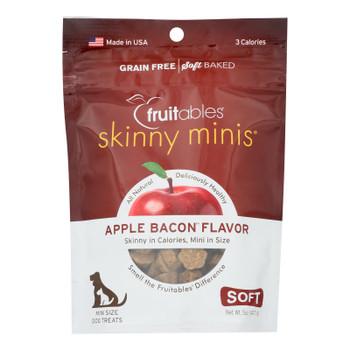 Fruitables - Dog Trts Chwy Applebacon - Case Of 12 - 5 Oz