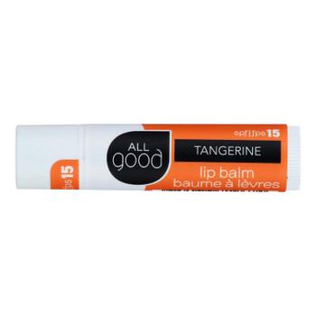 Elemental Herbs - Lip Balm Tangerine Spf12 - Case Of 18 - 4.25gr
