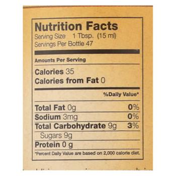 Flavorganics Organic Cane Syrup  - 1 Each - 24 Fz