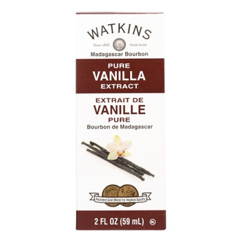 Watkins Madagascar Bourbon Pure Vanilla Extract  - 1 Each - 2 Fz